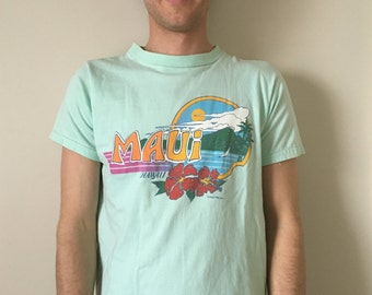 1984 Maui Hawaii Graphic T-Shirt
