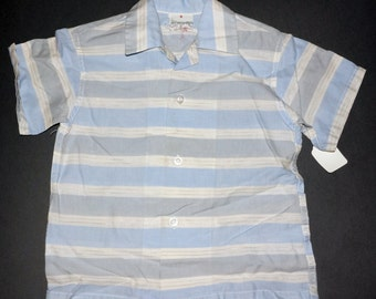 1950s Boys Shirt Sz 4 Vintage Retro Kids