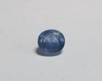 Natural Unheated Ceylon Sapphire 5x4x2.5mm .90ct oval