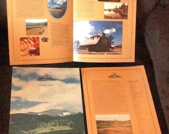 Caribou Ranch Recording Studio Original vintage Brochure - out of print - RARE