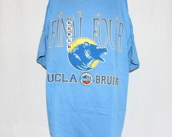 Vintage Deadstock UCLA Bruins NCAA Basketball T-Shirt XL