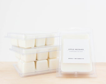 APPLE ORCHARD Soy Wax Melts | Scented Soy Tarts, Soy Candle Melt, Scented Wax Cubes