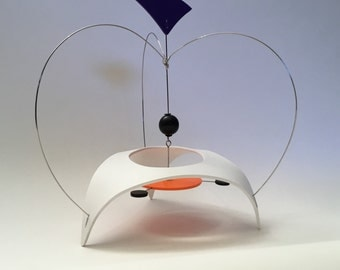 Space Pod, Art Stabile, Mobile, Kinetic Art, Table Top Art, Modern Mobile, MCM Sculpture