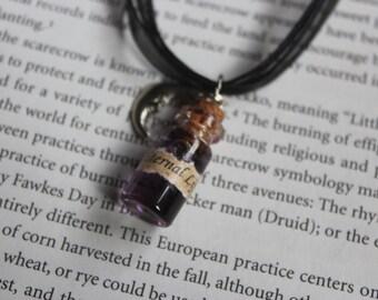 Eternal Life bottle necklace
