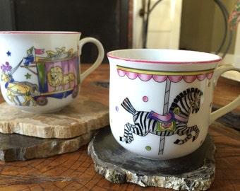 Two Whimsical Mugs