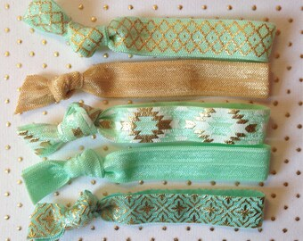 The Mint-to-Be Hair Tie Set