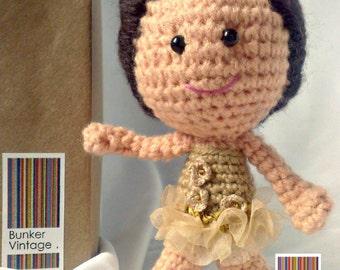 Amigurumi doll - Crochet doll - Crocheted doll - Amigurumi Crochet doll