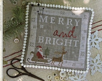 Pattern: Ho Ho Ho Cross Stitch - Country Stitches - With Thy Needle and Thread - Brenda Gervais