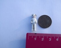 Miniature, Doll, Frozen, Charlotte, Charles, Antique, Dolls House, China, Porcelain, Collectors, Toy, Tiny, Vintage