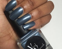 Nail Polish  (15ml) **cruelty free, 5 free, & vegan!** - Stone Cold Grey