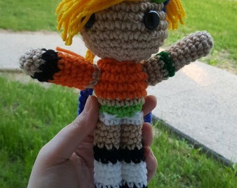 Made-To-Order Inspired by Squarenix's Final Fantasy X Rikku amigurumi