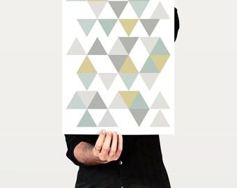 Geometric Print, Living Room Decor, Geometric Art, Minimalist Poster, Bedroom Decor, Modern Art Print, Contemporary Art