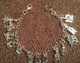 Christmas - 12 days of Christmas Bracelet