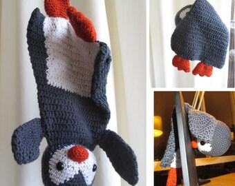Penguin ragdoll, Penguin lovey, Penguin 'securety blanket', Penguin crochet,Crochet amigurumi penguin ragdoll Ala Sascha,Penguin soft-toy
