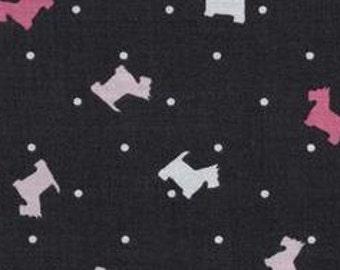 Michael Miller Fabrics - Scottie Toss Girl - CX6362-GIRL-D