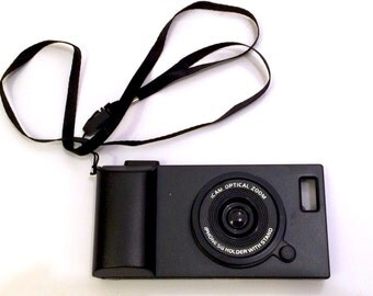 IPHONE 5 CAMERA SIMULATION Phone Case (Black)