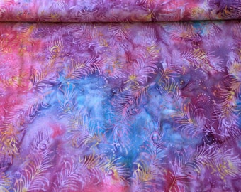 Princess Mirah Batik 1028 Spring Blue  FV4 patchwork & quilting fabric
