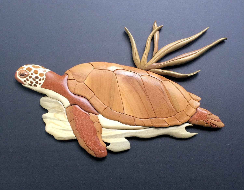outstanding wooden turtle wall art 18
