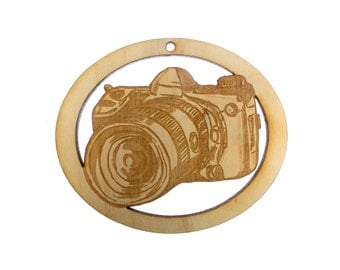 Camera Ornament - Camera Ornaments Christmas Tree - Camera Ornament - Photographer Gift Ideas - Gift For Photographer - Personalized Free