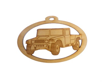 Humvee Ornament - Humvee Gifts - Humvee Gift - Humvee Ornaments - Hummer Ornaments - Hummer Gifts - Hummer Ornament - Personalized Free