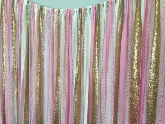 Bubblegum Pink Gold Sparkle Sequin Fabric By Ohmycharley On Etsy