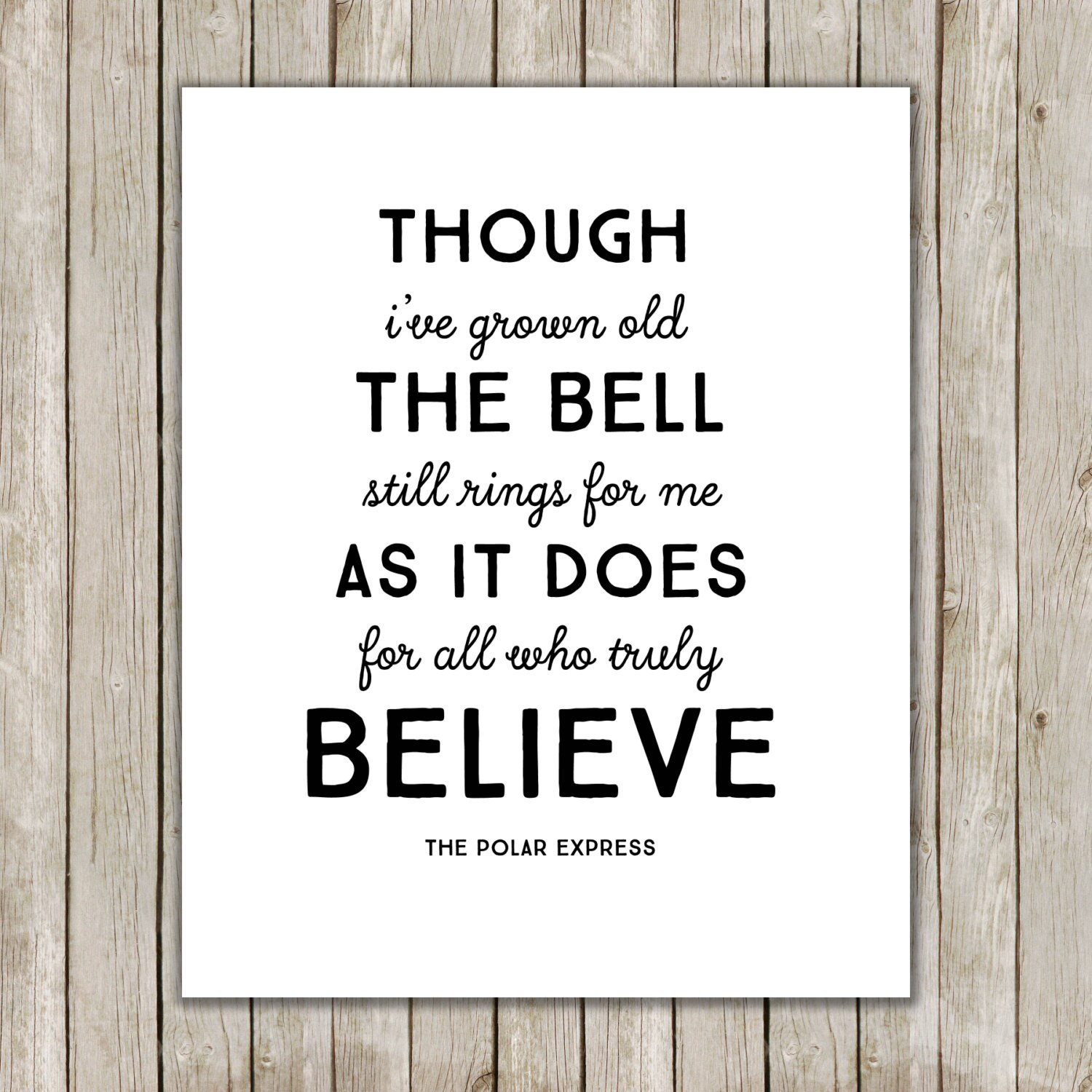 It's just a graphic of Magic The Bell Still Rings for Those Who Truly Believe Printable
