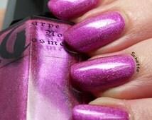 Paint Uranus Pink- Magenta Holographic Nail Polish