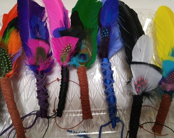 Custom Smudge Feathers