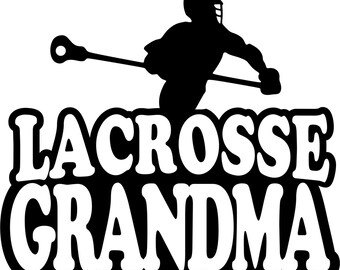 Lacrosse Shirt/ Lacrosse Grandma Shirt/ Boy Player Lacrosse Grandma T Shirt/ Lacrosse Gift