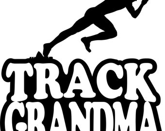 Boy Runner Track Grandma Short Sleeve Gildan T Shirt Many Colors