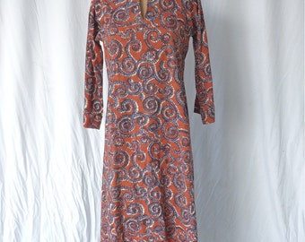 Vintage Handmade Batik Dress