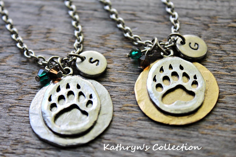 Bear Paw Necklace Bear Claw Black Bear Grizzly Bear Spirit