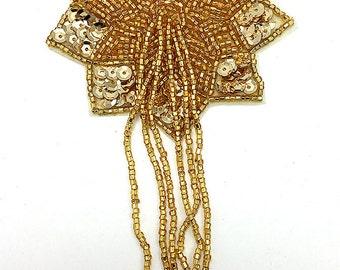 """Choice of Color Epaulet, Sequin Beaded, 5.5"""" x 3""""  -B264"""