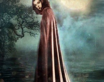 Hecate  - 8X10 Signed and Matted Metallic Print