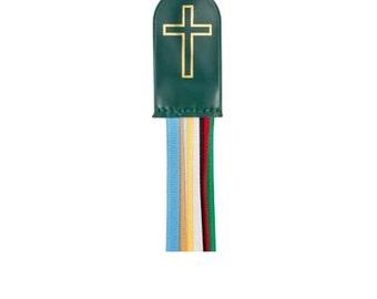 8 Ribbons Multicolor Bible Bookmark