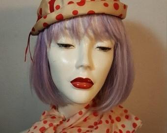FREE  SHIPPING  Hattie  Carnegie  Hat