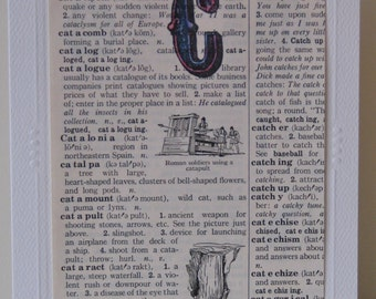 Vintage C Dictionary Page