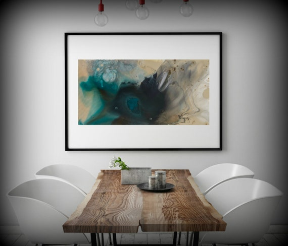 Wall art print large canvas abstract art abstract print large for Large bedroom paintings
