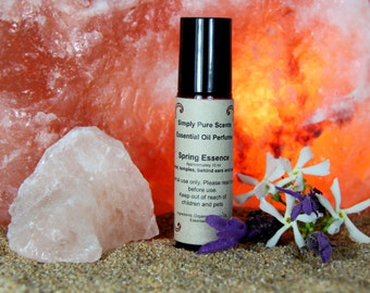 Essential oil perfume - Spring Essence Scent - Essential oil Fragrance -  Roll on Fragrance - All natural oil perfume  - Roll on Perfume