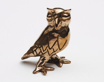 """OWL """"Oh Wise One"""" bronze"""