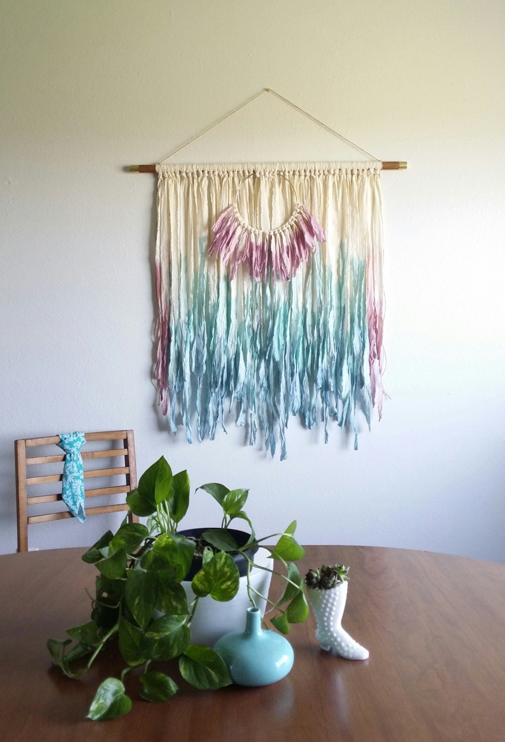 Bohemian Wall Hanging Tapestry Fabric Wall Hanging Large