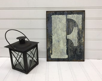 Metal Letters/Letter F/Wall Letter/Wall Decor/Nursery/Initials/SSLID0219/Farmhouse/Wedding/Gallery Wall/Primitive/Rustic Letter/Wall Words