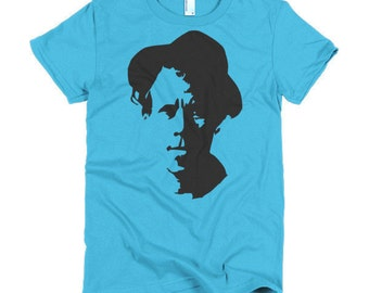 Tom Waits Ladies T-shirt
