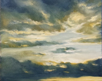 Evening Skyscape  2 by Sheila Cloud