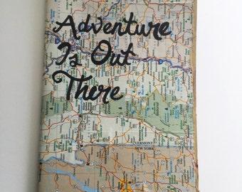 Adventure Map Moleskine Notebook