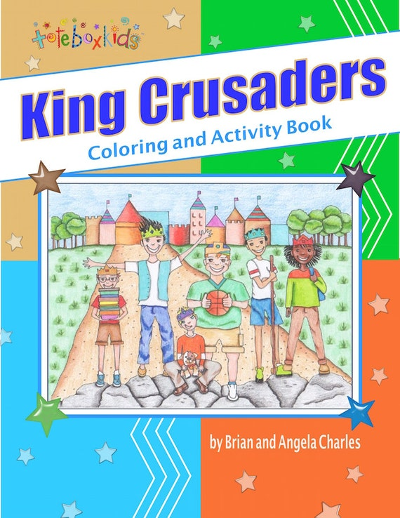 Tote Box Kids™ King Crusaders Coloring And Activity Book