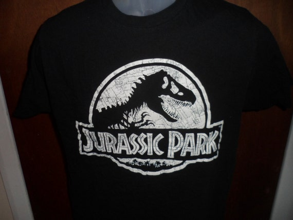 Jurassic Park Medium M Shirt Retro Vintage Ian by ...