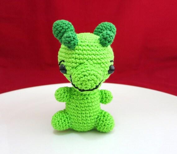 Dragon Baby Dragon Rattle Crochet Baby Rattle Amigurumi