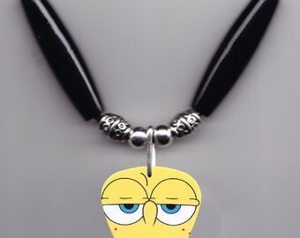 SpongeBob SquarePants Guitar Pick Necklace #4
