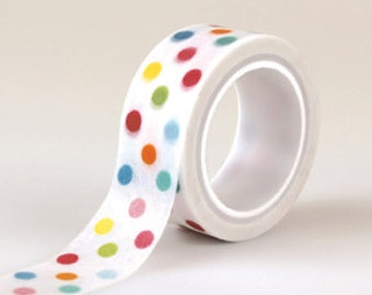 Dots Decorative Washi Tape from Echo Park Paper